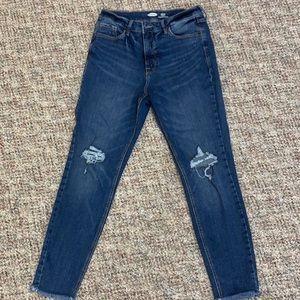 Old Navy Rockstar Super Skinny High Rose Jeans